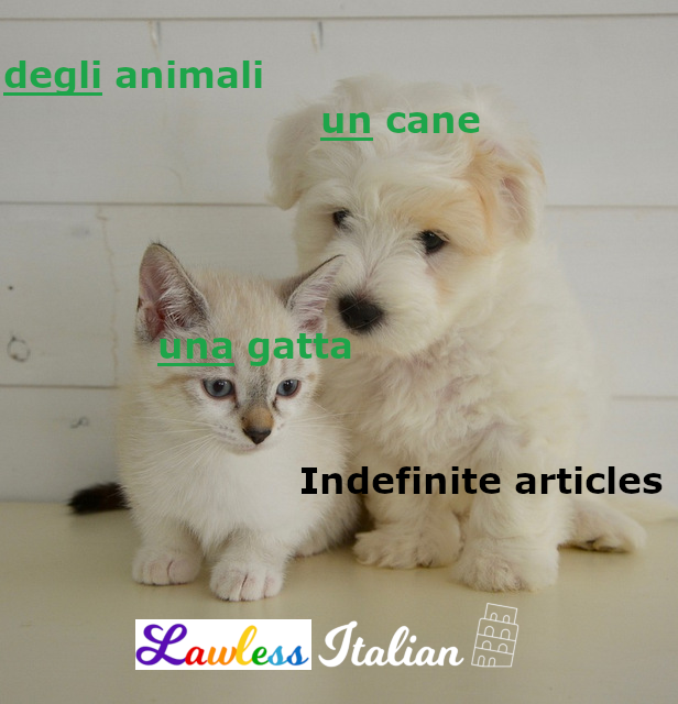 Indefinite articles in Italian